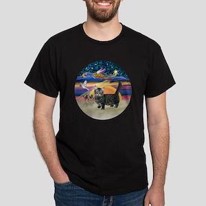 XAngel-Munchkin cat1 Dark T-Shirt