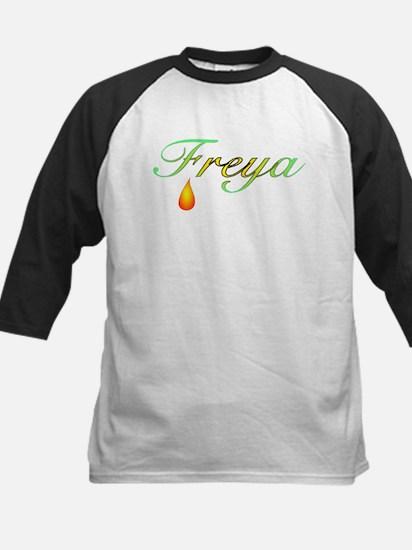 Freya, Goddess of Love Kids Baseball Jersey