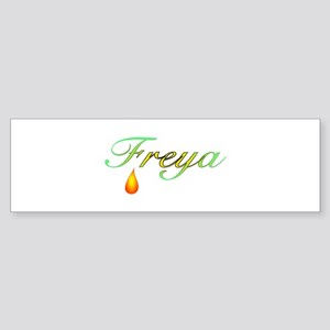 Freya, Goddess of Love Bumper Sticker