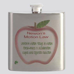 Newton's Motion Laws Flask