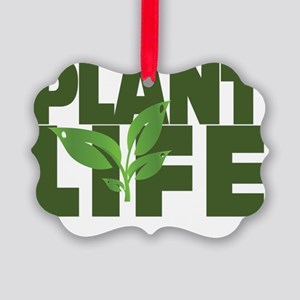 Plant Life Picture Ornament