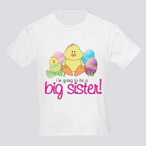 easter pregnancy announce front only Kids T-Shirt