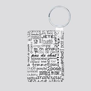 Ballet is hard terminology Aluminum Photo Keychain