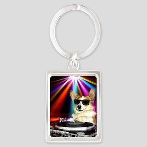 DJ Dott Portrait Keychain