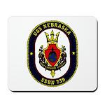 USS NEBRASKA Mousepad