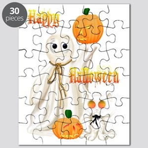 Ghost and Ghosty Kitty Puzzle