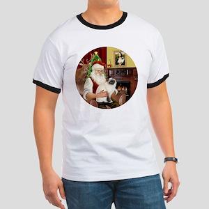 Santas Birman Cat Ringer T