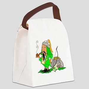 Khan of the Leprechauns Canvas Lunch Bag