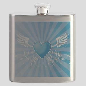 Winged Heart Flask