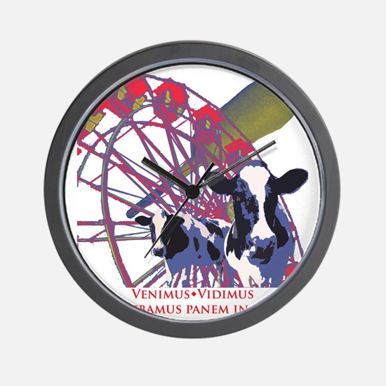 State Fair front Wall Clock