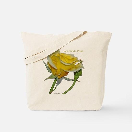 Lemonade Rose Trinket Box Tote Bag