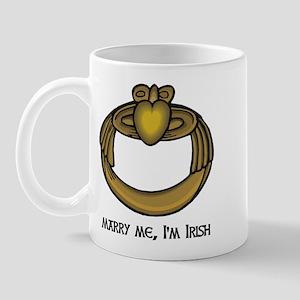 Marry Me, I'm Irish! Mug