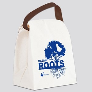 Bajan Roots Canvas Lunch Bag