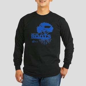 Puerto Rico Roots Long Sleeve Dark T-Shirt