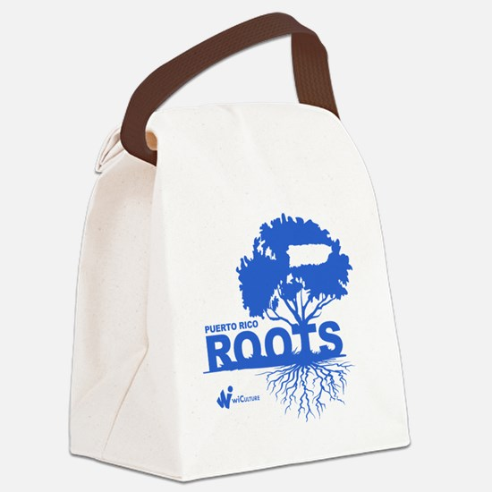 Puerto Rico Roots Canvas Lunch Bag