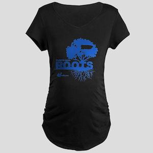 Puerto Rico Roots Maternity Dark T-Shirt