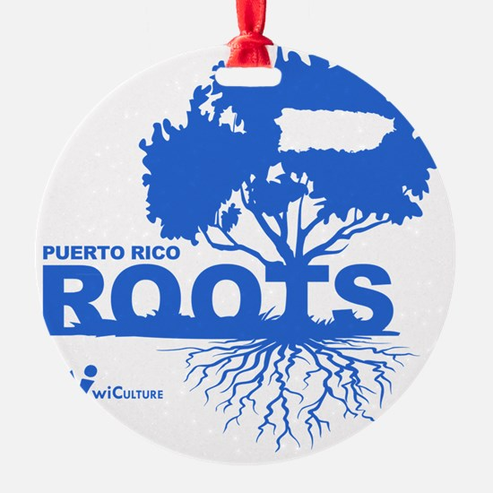 Puerto Rico Roots Ornament