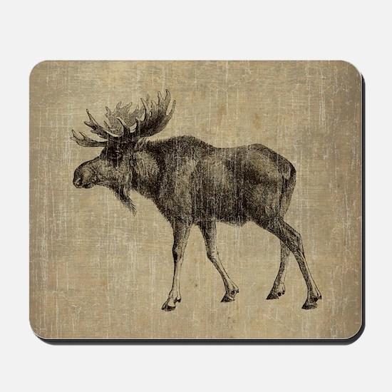 Vintage Moose Mousepad