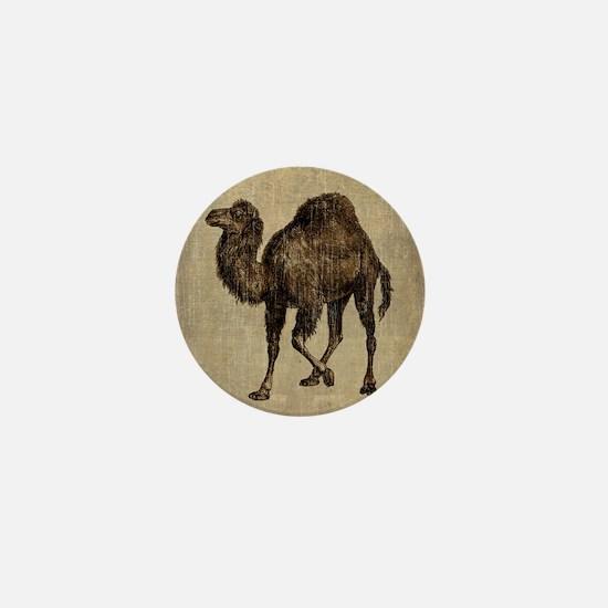 Vintage Camel Mini Button