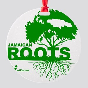 Jamaican Roots Round Ornament