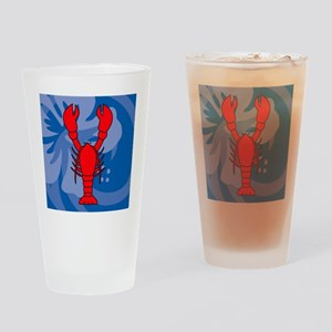 Lobster Pillow Drinking Glass