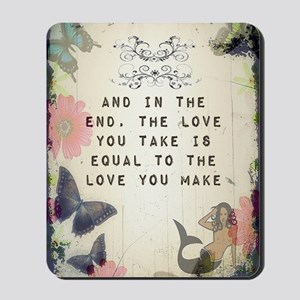 Vintage_Chick The Love You Make Mousepad