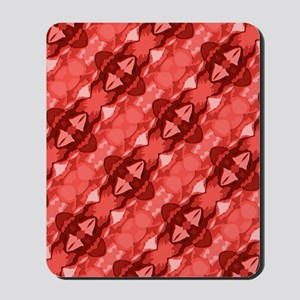 Red Pattern Mousepad