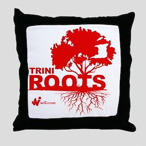 Trini Roots Throw Pillow