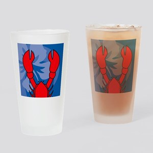 Lobster Wallet Drinking Glass