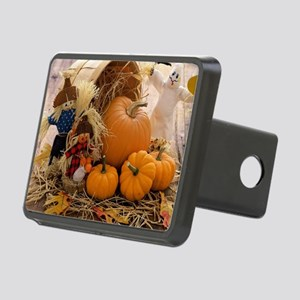 Fall Season Rectangular Hitch Cover
