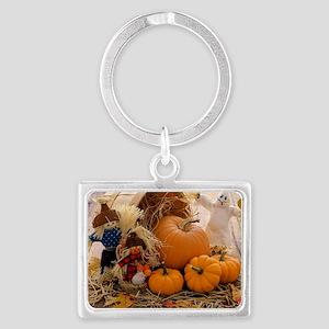 Fall Season Landscape Keychain