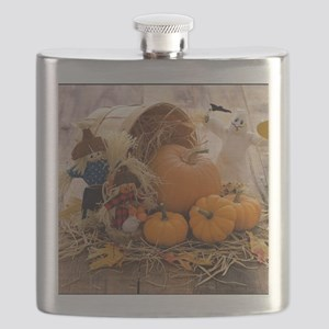 Fall Season Flask