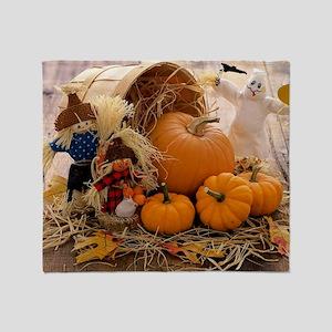 Fall Season Throw Blanket
