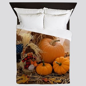 Fall Season Queen Duvet