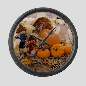 Fall Season Large Wall Clock