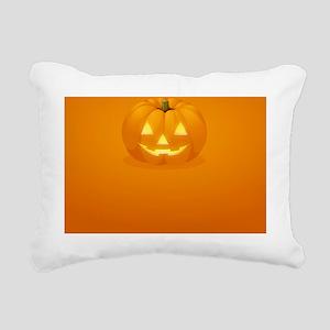 Halloween Themed Rectangular Canvas Pillow