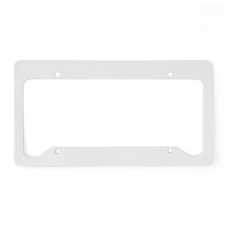 WVWhite_10x10 License Plate Holder