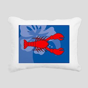 Lobster Hitch Rectangular Canvas Pillow