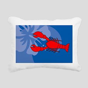 Lobster USA Sticker Rectangular Canvas Pillow