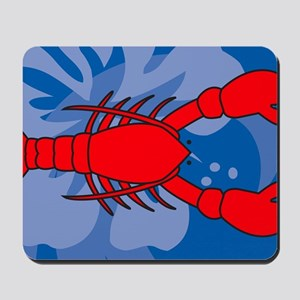 Lobster Yard Sign Mousepad