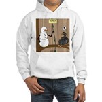 Snowman of the Apes Hooded Sweatshirt