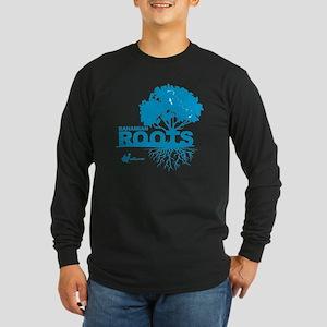 Bahamian Roots Long Sleeve Dark T-Shirt