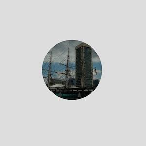 Constellation in Inner Harbor Mini Button