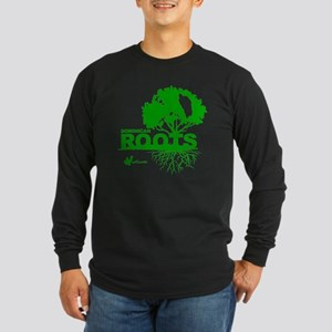 Dominican Roots Long Sleeve Dark T-Shirt