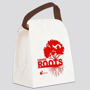 Panama Roots Canvas Lunch Bag