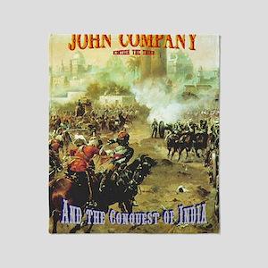 John Company Cover Throw Blanket