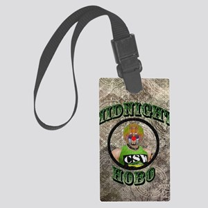 Midnight Hobo Large Luggage Tag