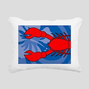 Lobster Power Bank Rectangular Canvas Pillow