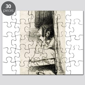 The slipper - Whistler - 1859 Puzzle
