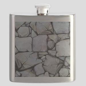 Stones Pattern Flask